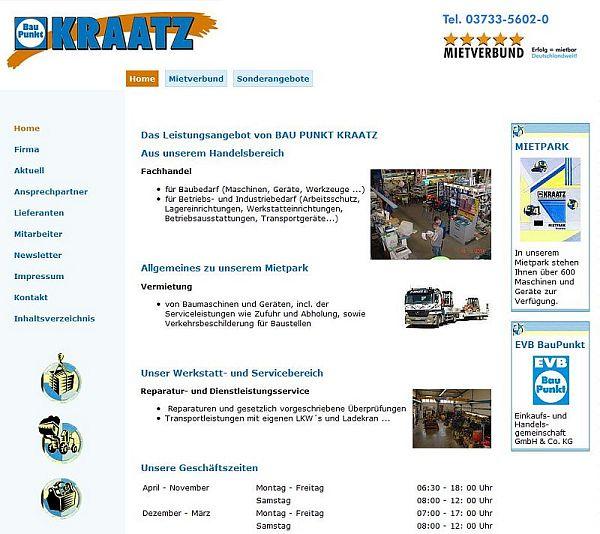 Webseite Kraatz