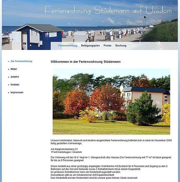 2010 Stüdemann Ferienwohnung