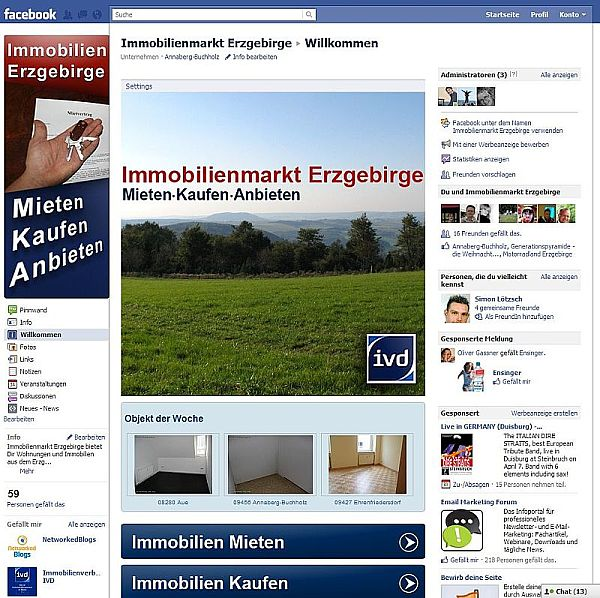 IME 2011 Facebook