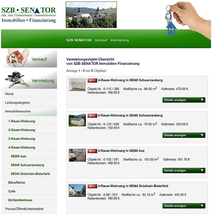 SZB-SENATOR arbeitet mit dem OpenImmo-Standard