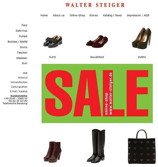 Sale bei Walter Steiger