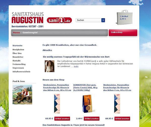 2012-Start-Webseite-Sanitaetshaus-Augustin-Thum