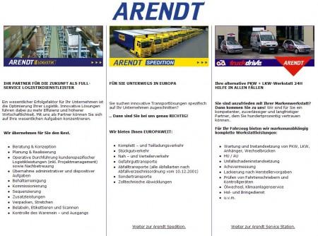2008 Umbau ARENDT GRUPPE