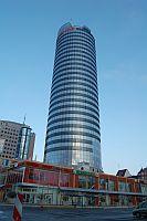 Jena Tower am 14.02.2008 gegen 07:15 Uhr beider Anreise zum WordCamp