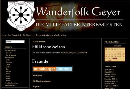 2009 Das Wanderfolk aus Geyer