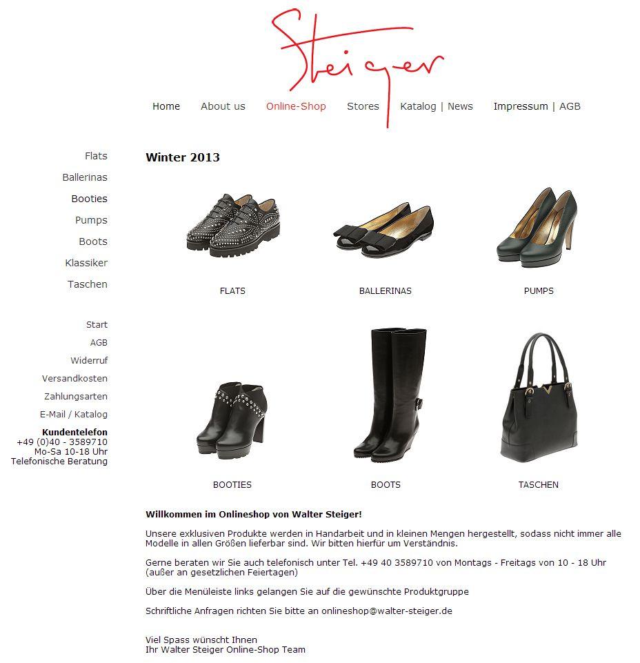 2013 Walter Steiger Shop Düsseldorf, Suzanne Graf