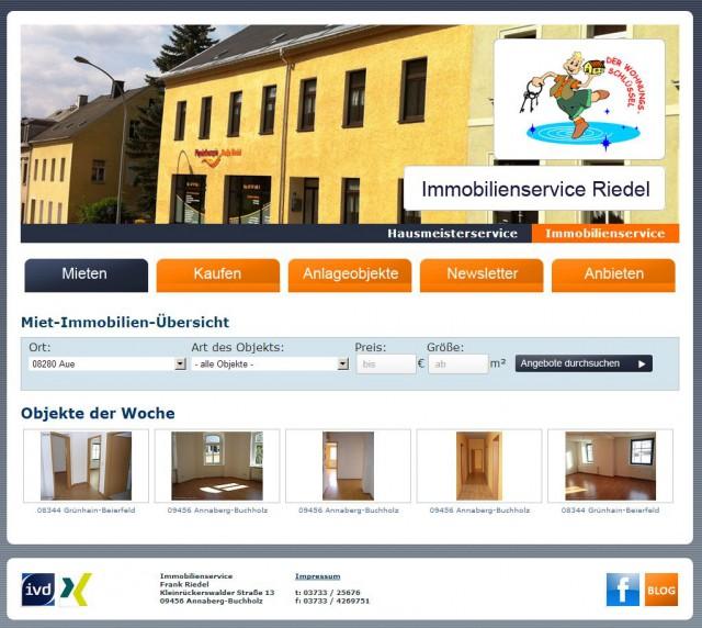 2013-Blitzschnell-Blitzsauber der Immobilienservice im Erzgebirge