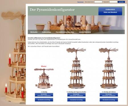 2013 Der Pyramidenkonfigurator fuer Weihnachtspyramiden