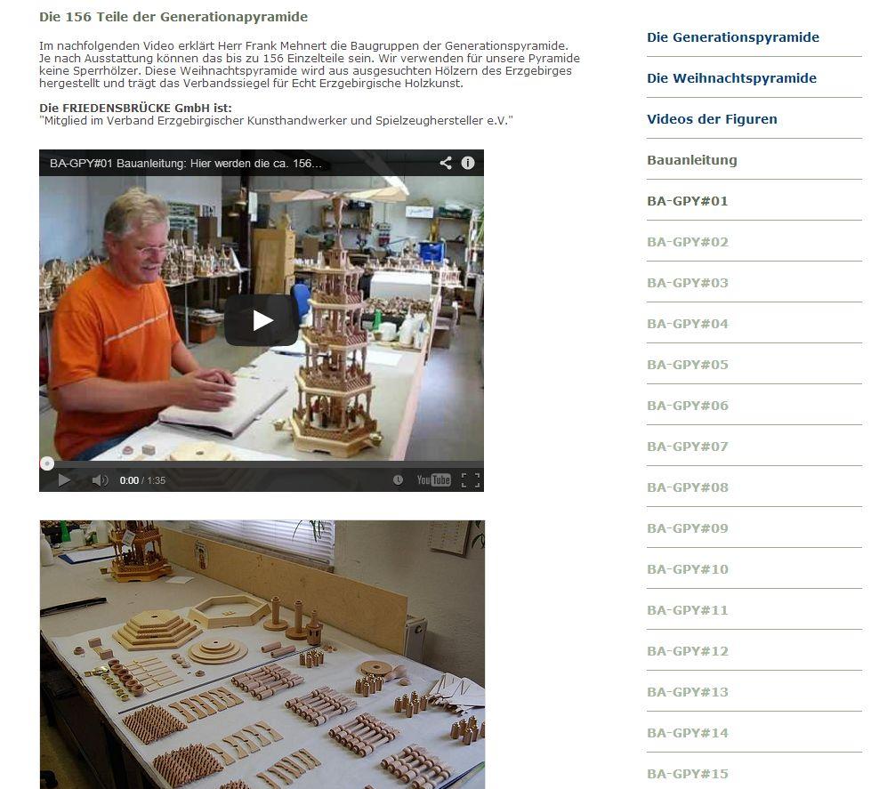 2013 Der Pyramidenkonfigurator fuer Weihnachtspyramiden Bauanleitung