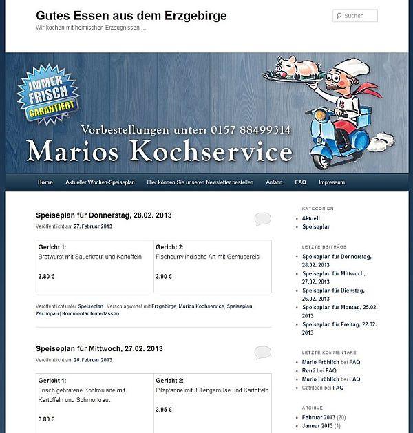 2013 iSP-ERZ der intelligente Speiseplan aus dem Erzgebirge