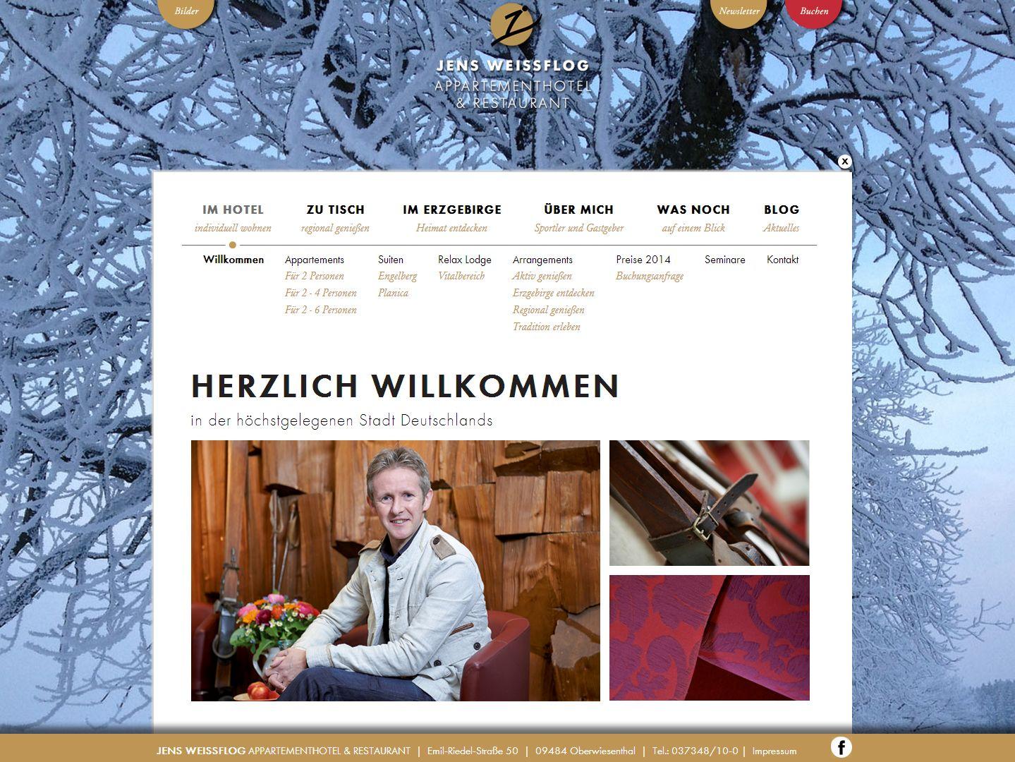 2013 Neues Design Appartementhotel Jens Weissflog