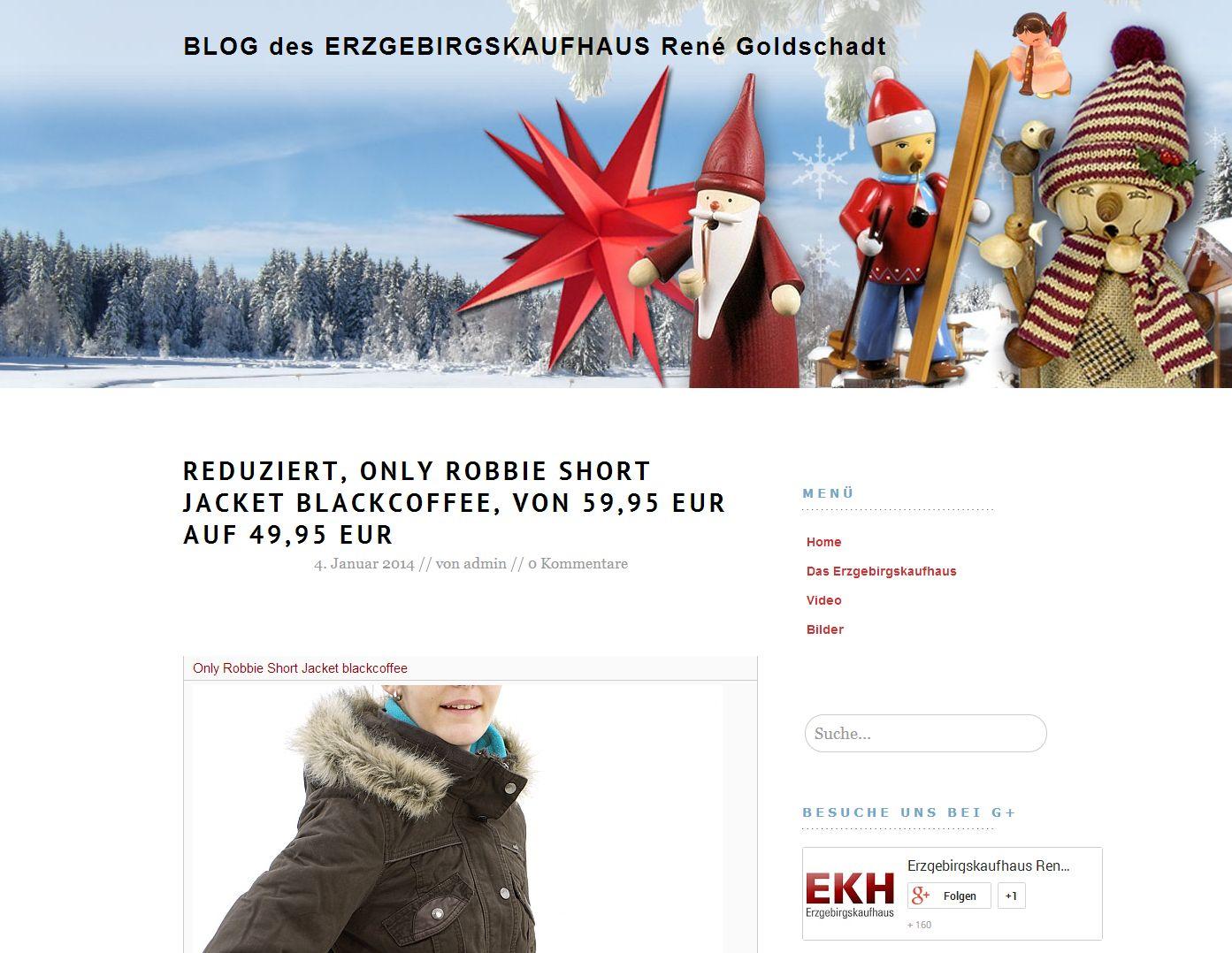 2014 Blog des Erzgebirgskaufhaus