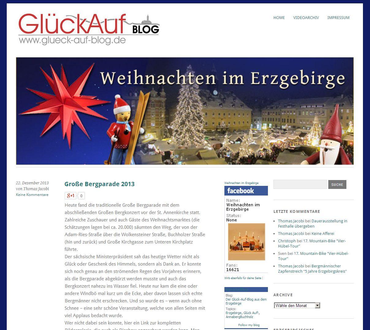 2014 Der Glueck-Auf-Blog aus dem Erzgbeirge