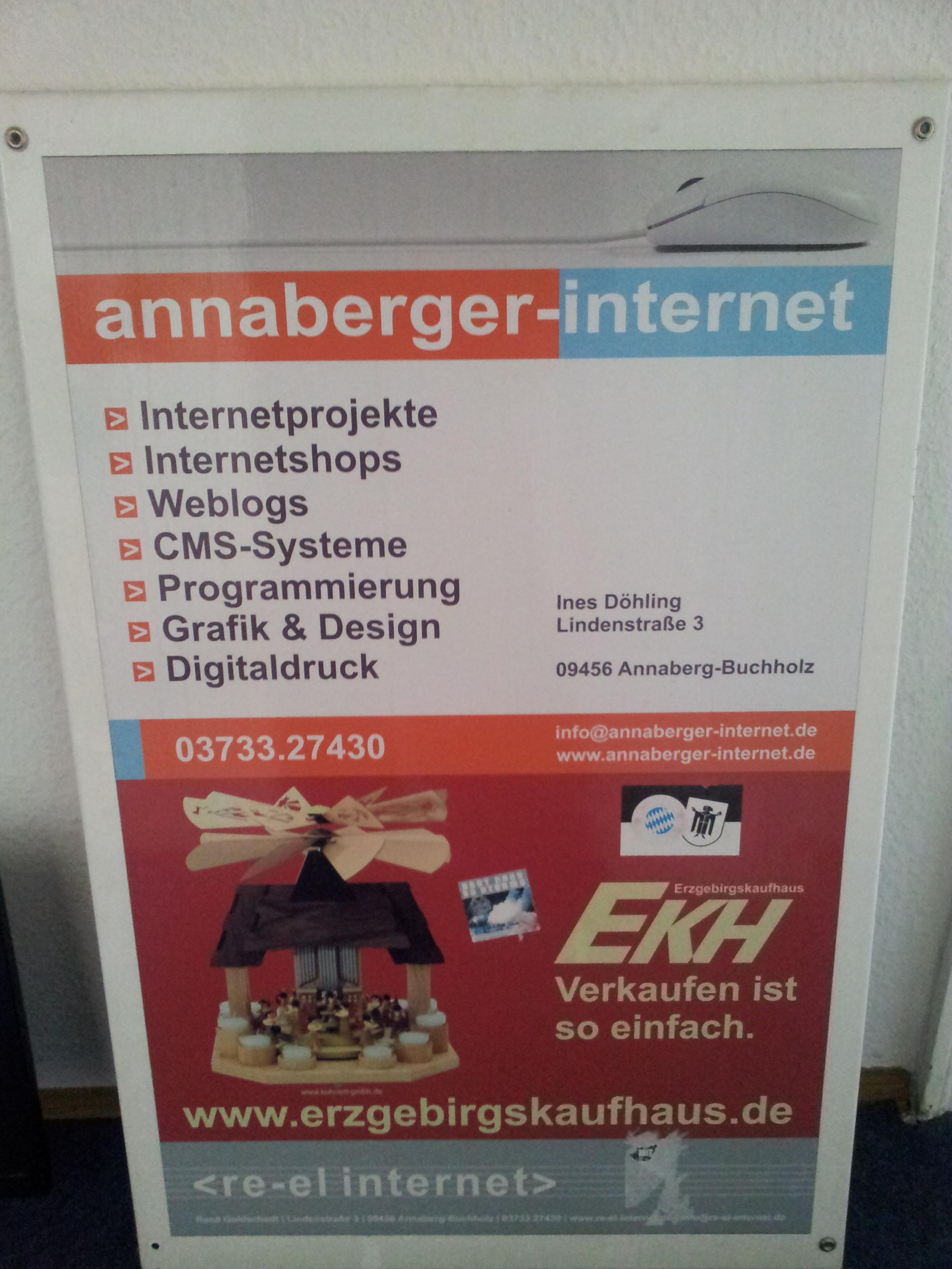 2014-02-05 Das Schild bei annaberger-internet ist ab - es darf gemumaßt werden