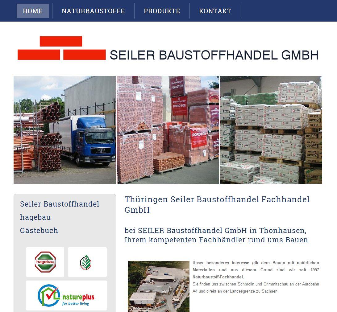 2014 Seiler Baustoffe GmbH Thonjausen Thüringen Nachher