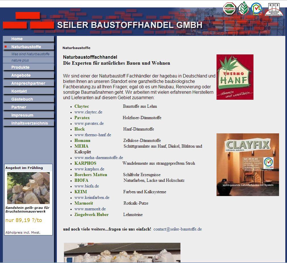 2014 Seiler Baustoffe GmbH Thonjausen Thüringen Vorher