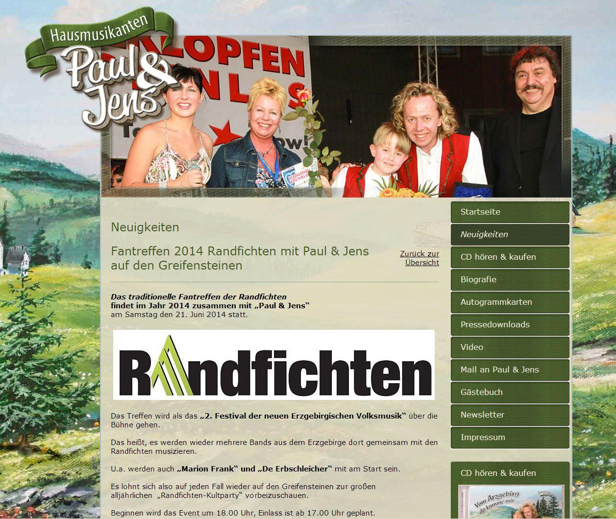 2014 Relaunch Paul Und Jens Thum Erzgebirge