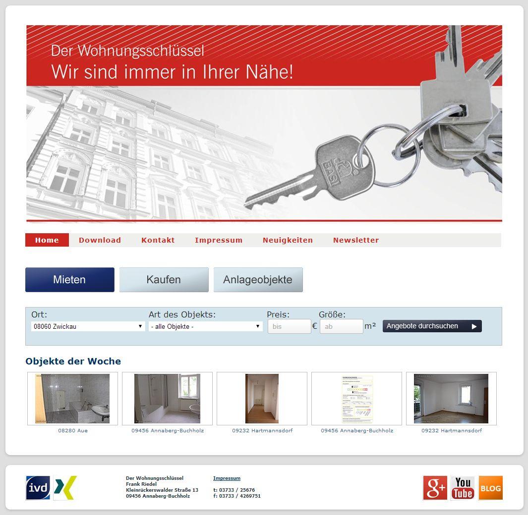 2014 Der-Wohnungsschluessel Erzgebirge Immobilien