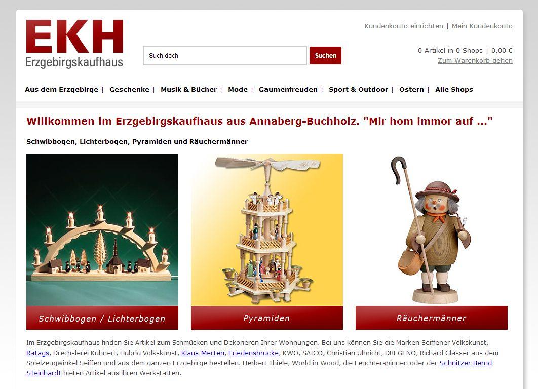 2014 Relaunch Erzgebirgskaufhaus Annaberg-Buchholz Erzgebirge