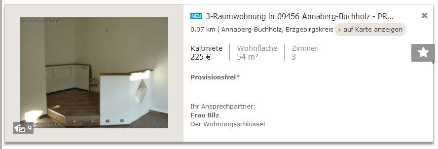 2014 Immobilienmarkt Erzgebirge - Immobilienscout24 Schnittstelle
