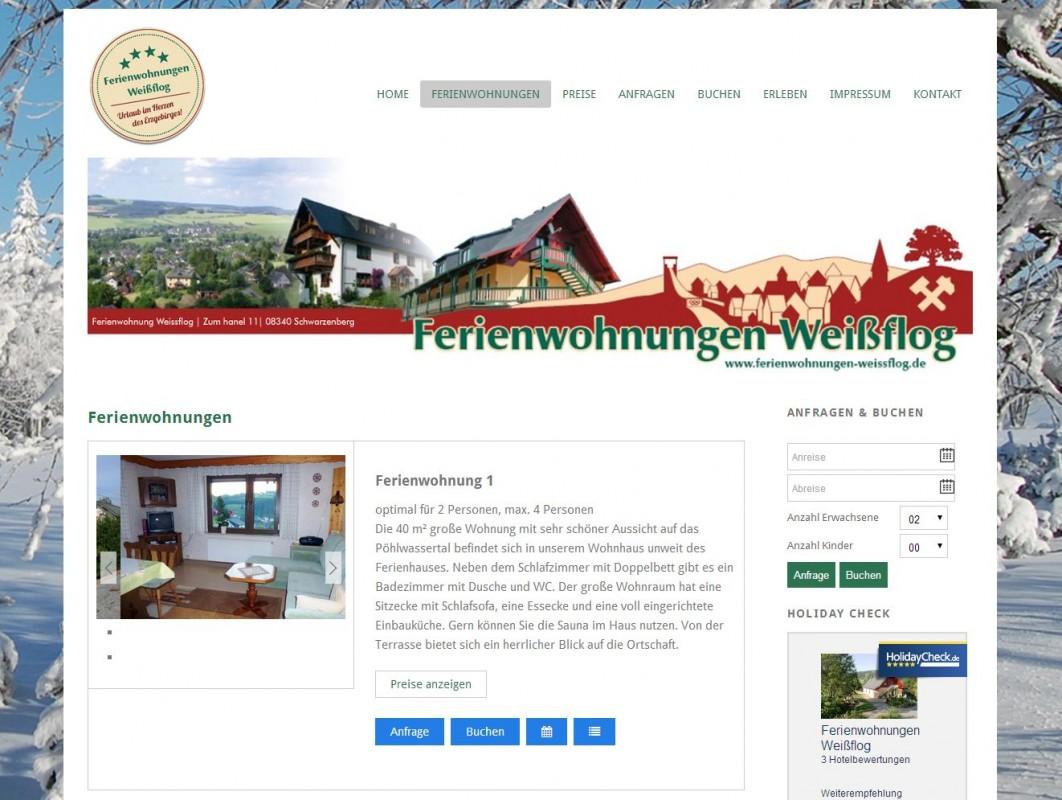 2014 Ferienwohnungen Weissflog Poehla Erzgebirge
