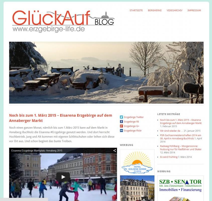 Erzgebirge-life wieder im Internet - Erzgebirge