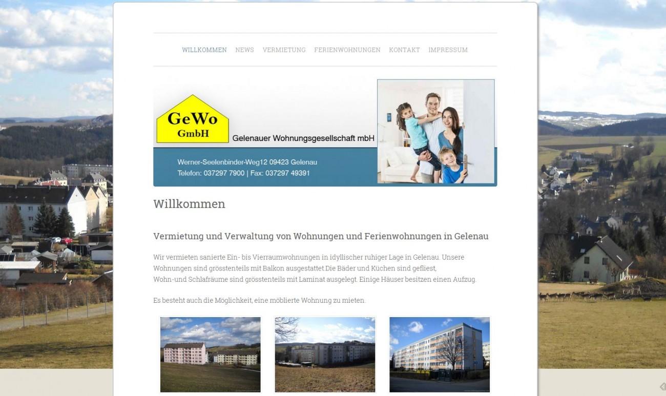 2015 Relaunch GEWO GmbH Gelenau Erzgebirge