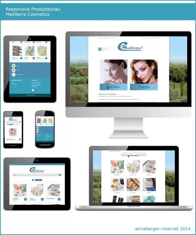 2014 Mobile Produktschau Mediterra Cosmetics Erzgebirge