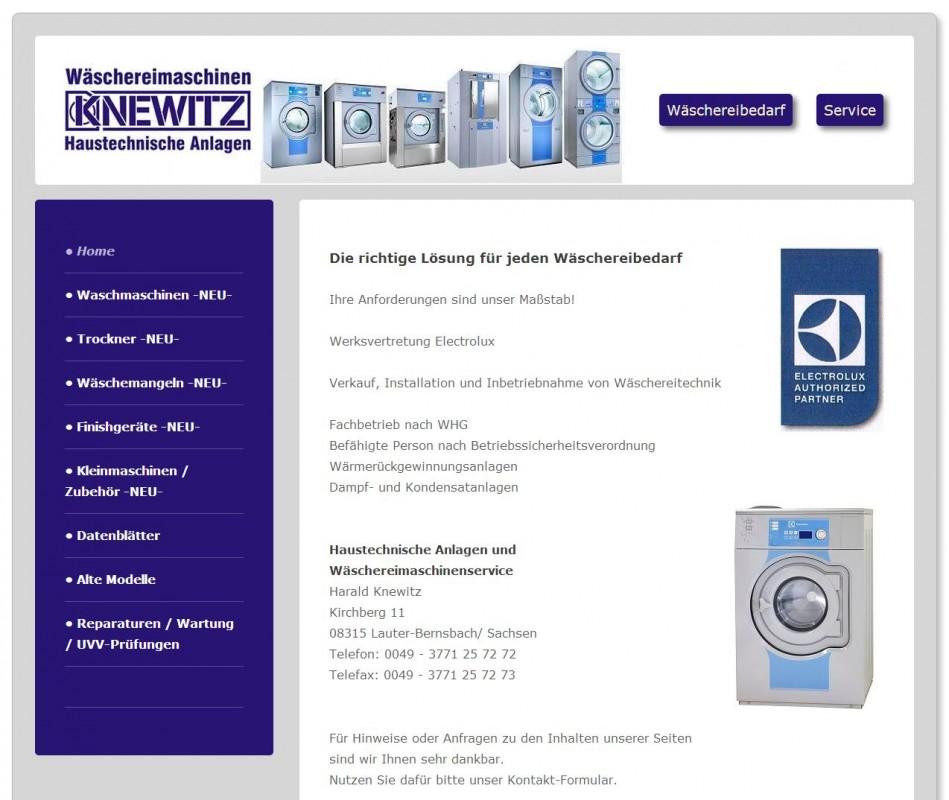 2015 Firma Haustechnische Anlagen und Wäschereimaschinen Harald Knewitz Lauter Erzgebirge