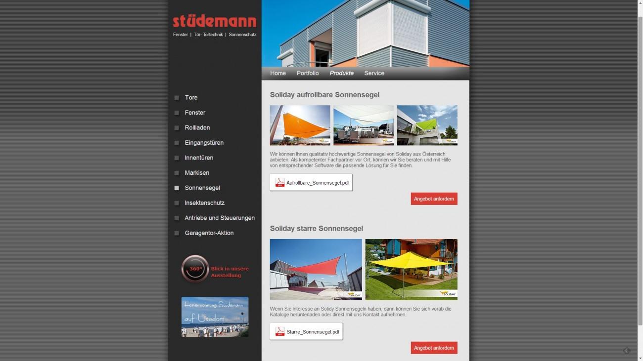 2015 Firma Stuedemann Universaldatensatz im CMS