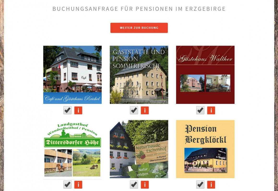 2015 Erzgebirge-life Buchungsanfragen Pensionen