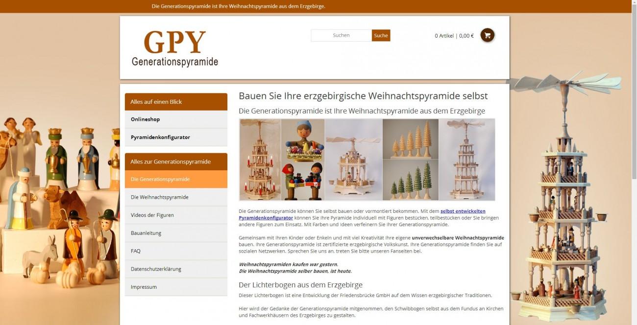 2015 Generationspyramide Responsiv Weihnachtspyramide Erzgebirge