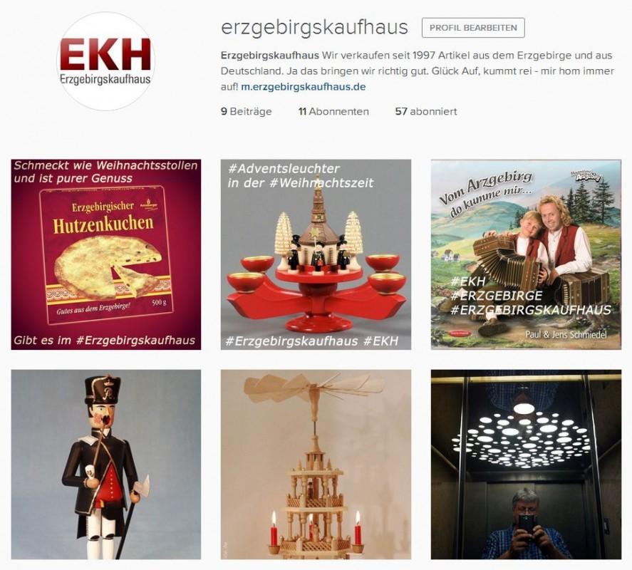 2015 Instagram EKH Erzgebirgskaufhaus Erzgbebirge