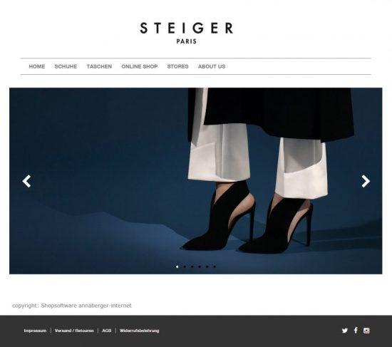 Walter Steiger Onlineshop Deutschland