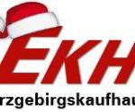 Weihnachtslogo Erzgebirgskaufhaus